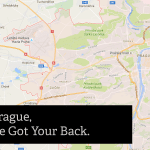 Map of Prague VPN Server