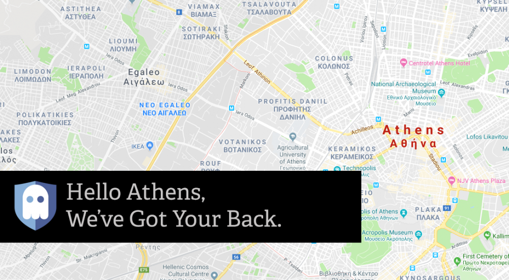 New VPN Server in Athens, Greece