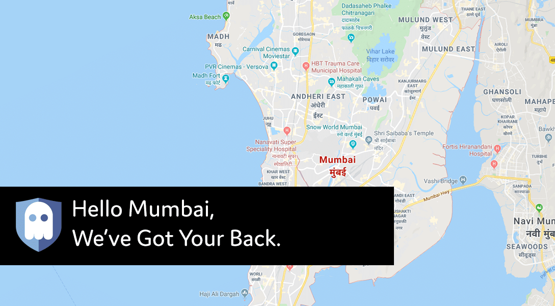 New VPN Location in Mumbai, India