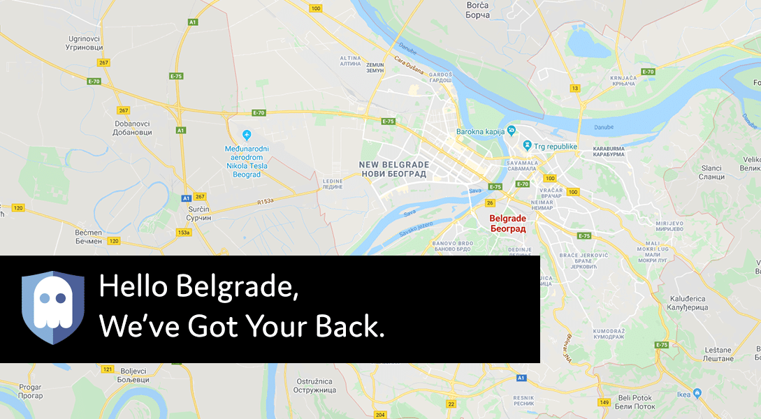 New VPN Server Location in Belgrade, Serbia