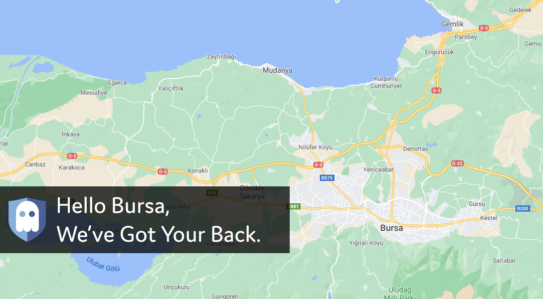 VPN Server in Bursa, Turkey